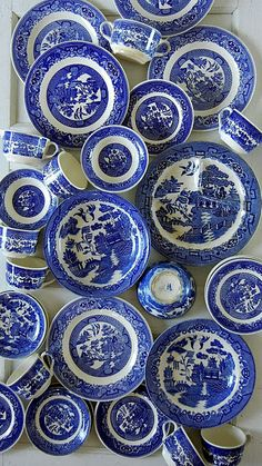 blue & white collection..