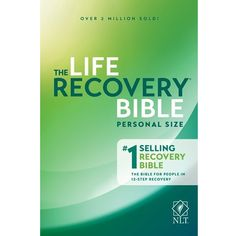 Life Recovery Bible: 25th Anniversary Edition NLT personal size