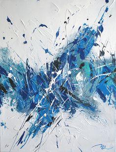 Blux - Toile acrylique - 50x65 cm