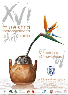 Cartel XVI Muestra Iberomaricana de Artesanía 2008