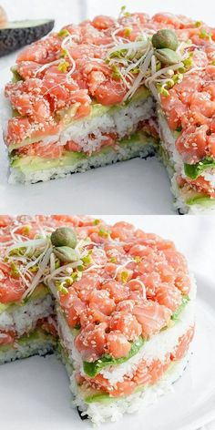 Sushi Recipes, Healthy Chicken Recipes, Asian Recipes, Appetizer Recipes, Cooking Recipes, Best Holiday Appetizers, Food Humor, Food Photo, The Best