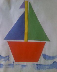 Transportation - Crafts For Preschool Kids Preschool Transportation Crafts, Preschool Projects, Daycare Crafts, Preschool Crafts, Transportation Unit, Art Projects, Toddler Art, Toddler Crafts, Crafts For Kids
