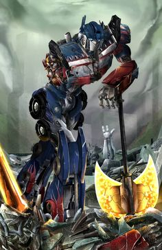 """Peter Cullen is freaking awesome. I wish he had a star credit for all the transformers films. and not just """"voice work"""". I loved and hated working on . Optimus Prime - Never Give Up Transformers Decepticons, Transformers Bumblebee, Transformers Optimus Prime, Transformers Memes, Never Give Up, Anime, Geek, Battle Axe, Wolfenstein"""