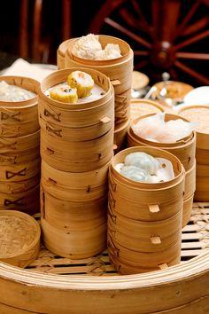 Dim sum selection at our breakfast buffet at the Clipper Lounge at @Mandarin Oriental, Hong Kong