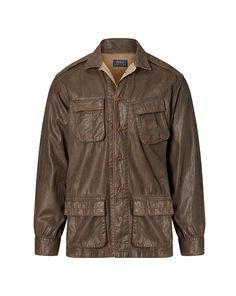 Cotton Twill Utility Shirt - Polo Ralph Lauren Standard Fit - RalphLauren.com