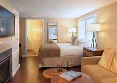 Enjoy peaceful studio, one or two bedroom units, many with stunning views of Nantucket Sound. Almost all units feature balconies, and all have cozy fireplaces for cool Cape Cod nights. - Soundings Seaside Resort, Ascend Hotel Collection© #GoNative