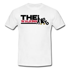 Tee shirt the walking dad DESIGN | Spreadshirt