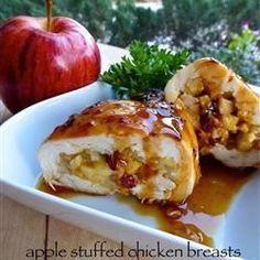 Kipfilet met appelvulling @ http://allrecipes.nl