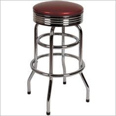 Availability: Build to Order. Minimum order of This swivel retro diner stool is durable and fits within many decors. Bar Stools For Sale, Warm Kitchen, Retro Diner, Restaurant Equipment, Restaurant Furniture, Food Service Equipment, Double Ring, Table Seating, Swivel Bar Stools