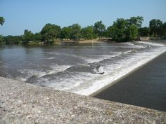 The Dam at Belvidere Park