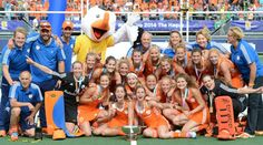 The Dutch women's hockey gold medalists at London 2012