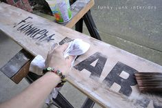 Farmers Market sign reveal with a story | Funky Junk InteriorsFunky Junk Interiors