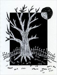Positive / Negative Scratch Tree