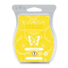 LEMON SORBET Fresh-cut lemon and grapefruit zest sweetened by sugarcane. Scentsy Wax Melts, Scentsy Uk, Grapefruit Zest, Lemon Sorbet, Candle Store, Cube Design, Scented Wax, Scentsy Fragrances, Bar