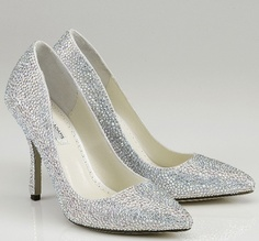 I just purchased my dream wedding shoes! <3 Blissful Bridal Boutique!