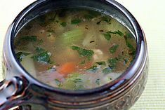 Vegetable soup with fennel and Italian turkey sausage