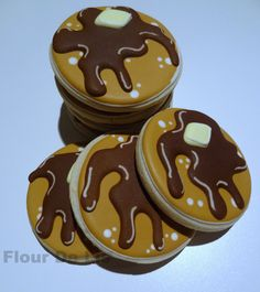 Awesome!! Pancake Cookies, by Flour De Lis