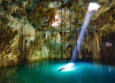 Yucatan Cenotes. National Geographic Adventure