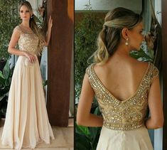 Dourado vestido de festa