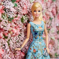 Back in full color for the first day of Spring!  #barbie #barbiestyle