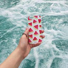 H2Omelon - iPhone and Samsung case - Anuke Design #anukedesign #iphonecase #samsungcase