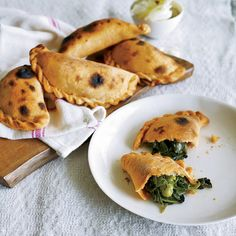 """""""In Argentina, we eat so much beef. When I talked to [Mauricio] Couly about making empanadas, I said, 'It would be great to fill them with something that is not meat,'"""" Piero Incisa della Rocchetta recalls. Mauricio Couly uses a mix of spinach, fava beans, green beans and a good amount of mint."""