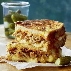 Sandwichs fondants au porc effiloché