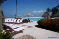 Grand Velas Riviera Nayarit. With 24 hour room service, pool side butler service, you will be happy here!