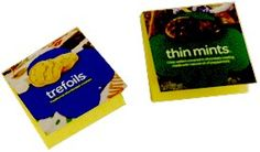 Girl Scout Cookie Box Memo Pads