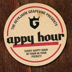 Reykjavik Appy Hour (happy hour app)