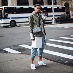 Resultado de imagen de sneakers con lazo street style