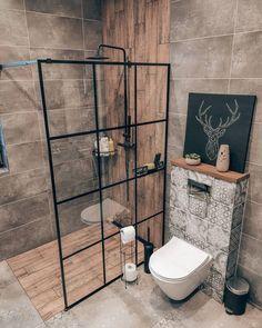 Bathroom Design Small, Bathroom Interior Design, Decor Interior Design, Interior Decorating, Loft Interior, Deco Addict, Bathroom Goals, Architect Design, Cozy House