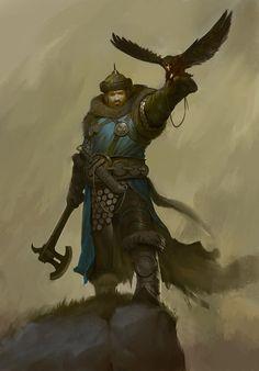 Random Fantasy/RPG artwork I find interesting,(*NOT MINE) from Tolkien to D&D. Fantasy Armor, Medieval Fantasy, Dark Fantasy, Fantasy Inspiration, Character Inspiration, Fantasy Character Design, Character Art, Paladin, Warhammer Fantasy Roleplay