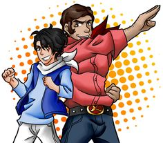 Red and Neo Axe by Tomacchi.deviantart.com on @DeviantArt