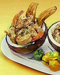 James's Coconut Curry Shrimp