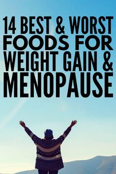 Weight Loss After Menopause: 14 Foods to Eat and Avoid - Health and Fitness - alas menopause Weight Gain Meals, Lose Weight Quick, Fast Weight Loss, Melt Belly Fat, Slow Metabolism, Menopause Symptoms, Foods To Eat, Health Fitness, Fitness Foods