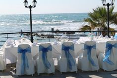 Romios Deck wedding reception Kefalos Beach, Beach Weddings, Wedding Reception, Deck, Table Decorations, Home Decor, Weddings At The Beach, Marriage Reception, Decoration Home