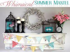 summer mantel