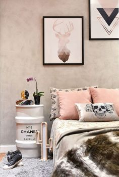 Interior Living Room Design Trends for 2019 - Interior Design Room Makeover, Pretty Room, Home N Decor, Home Bedroom, Home Decor, Room Inspiration, Bedroom Decor, Inside Decor, Interior Design Bedroom