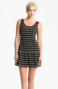 Ali Ro Zigzag Crochet Tank Dress | Nordstrom