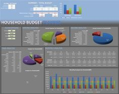 10 Free Household Budget Spreadsheets for 2017 | Microsoft excel