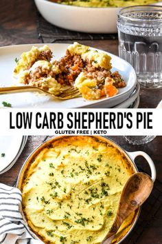 Low Carb Shepherd's Pie is your chilly night dinnertime champion! Low Carb Shepherd's Pie is your chilly night dinnertime champion! Diet Lunch Ideas, Lunch Recipes, Low Carb Recipes, Salad Recipes, Dinner Recipes, Healthy Recipes, Meal Ideas, Yummy Recipes, Low Carb Shepherds Pie