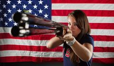 Team USA Shooting: Best Of Hot U.S. Chicks With Guns In London