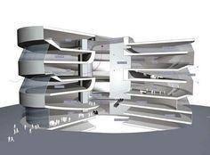 Arquitectura White: Museo Mercedes Benz