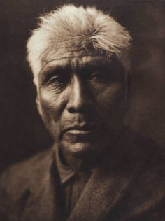 Káviu, a Pima Native American 1907 by Edward S Curtis (1868-1952) from The North American Indian, v. II suppl., plate 42. Cambridge, MA: The University Press, 1908) :: Featured Sets