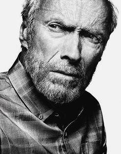 Clint Eastwood by Platon, for Variety