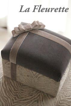 プレゼントBOX♡ の画像|布のインテリア*La Fleurette の Diary