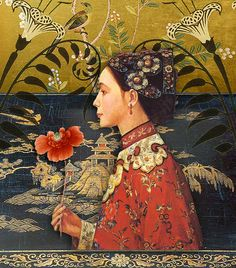 orient-lily by Romany Soup, via Flickr