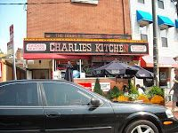 Charlies Kitchen, Harvard Square in Cambridge MA. http://newenglandtravelnews.blogspot.com/2008/06/double-cheeburger-king.html