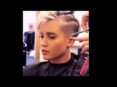 Headshave |beautiful Girl and Gorgeous Shaving her Head Ep# 14/ Undercut hairstyles women. - YouTube
